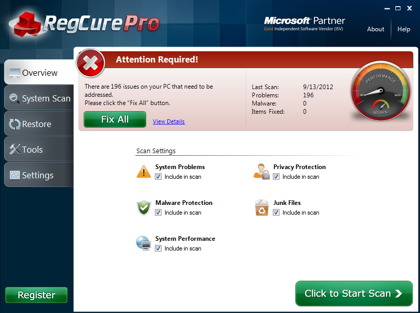 RegCure-Pro_3 How to Perfectly Analyze Your Registry for Errors Using Regcure?