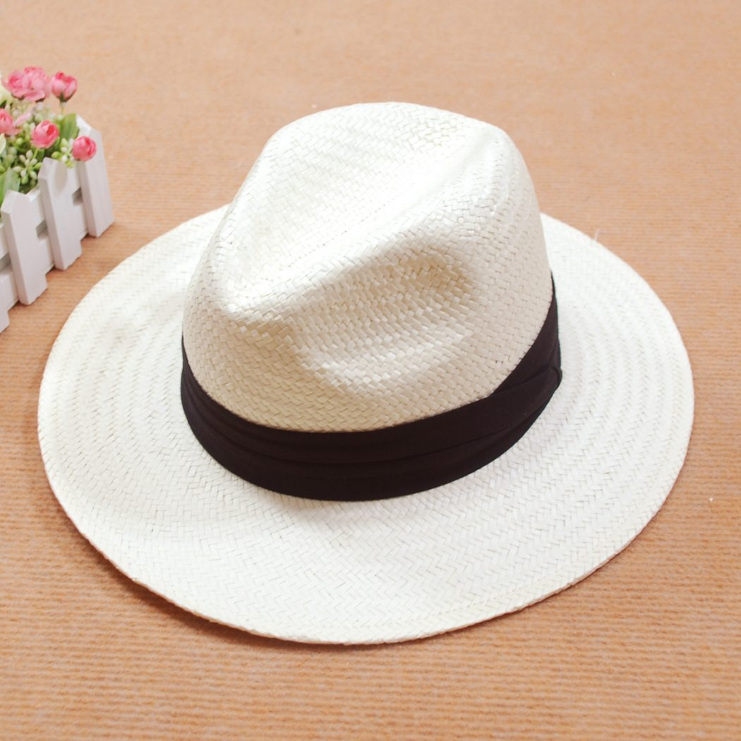 Stylish-flat-top-summer-straw-hat1 What Are The Latest Fashion Trends of Men's Hats?