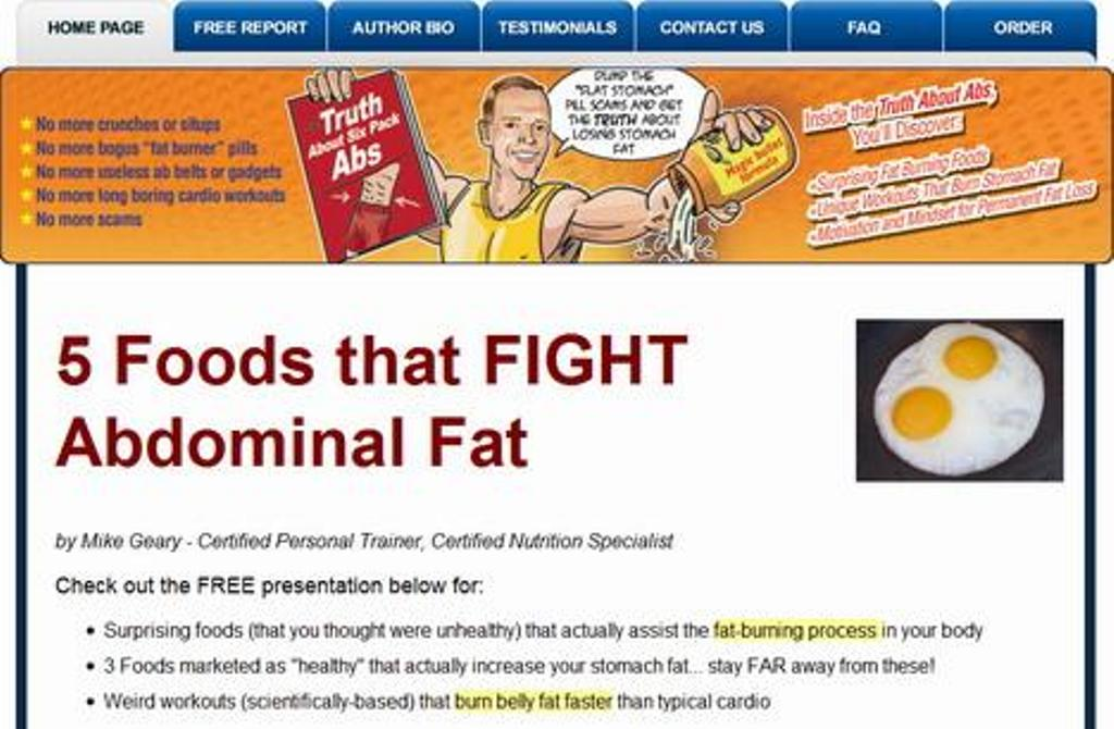"""The-Truth-About-Six-Pack-Abs-c Unusual Tips in """"Truth About Abs"""" to Lose Your Stomach Fat"""