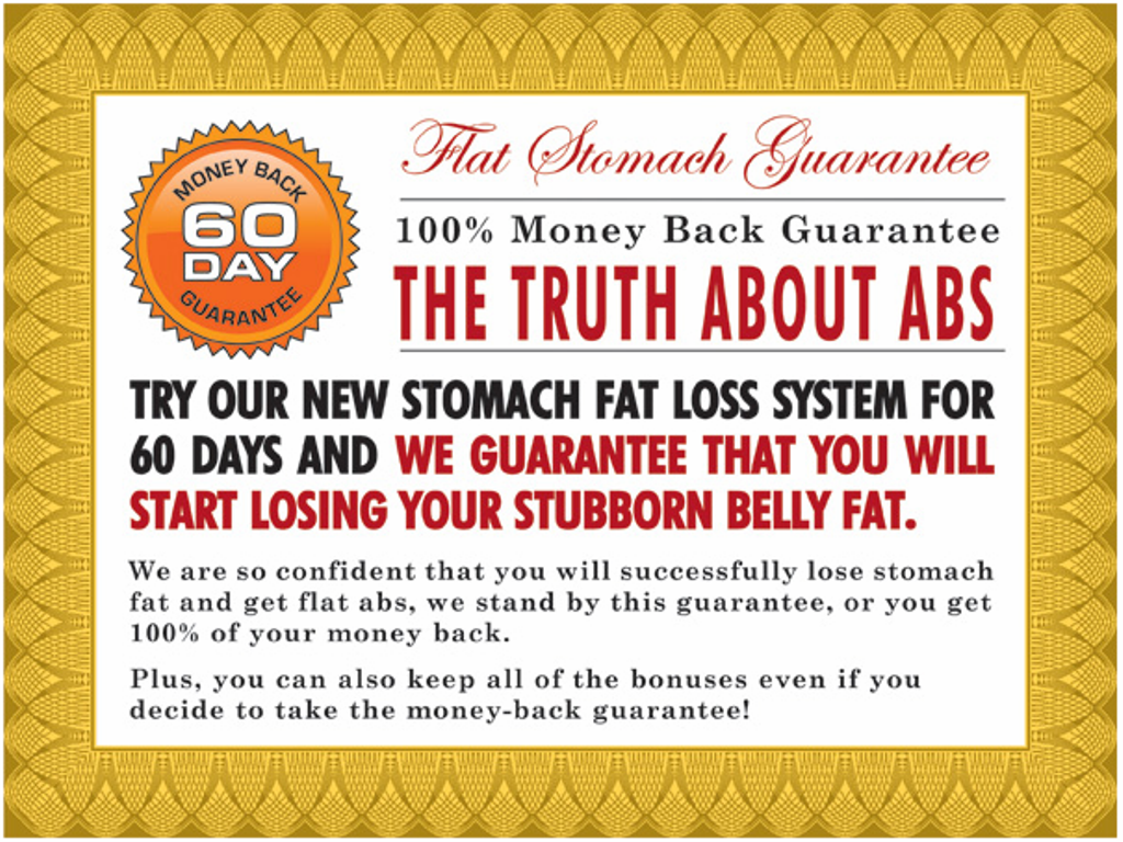 """The-Truth-about-Abs-trial Unusual Tips in """"Truth About Abs"""" to Lose Your Stomach Fat"""