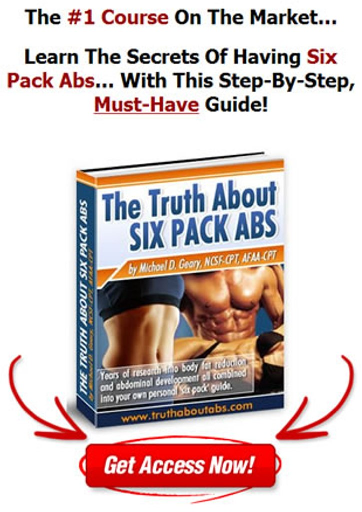 """Truth-About-Six-Pack-Abs Unusual Tips in """"Truth About Abs"""" to Lose Your Stomach Fat"""