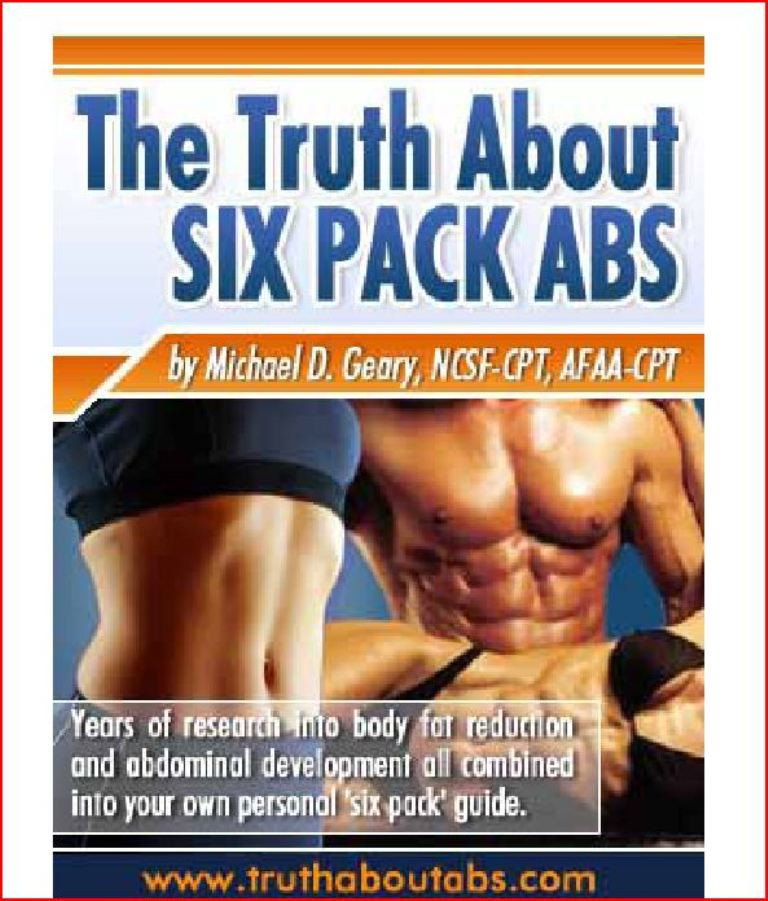 """Truth-about-six-pack-abs-program Unusual Tips in """"Truth About Abs"""" to Lose Your Stomach Fat"""