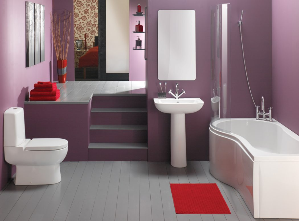 Wonderful-Bathroom-Style-Design Fabulous And Stunning Colorful Bathrooms to Renew Yours