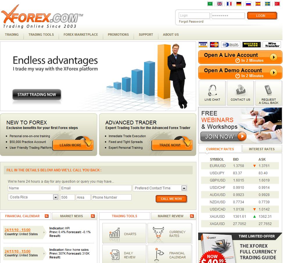 Xforex_Forex_broker Top 10 Forex Brokers