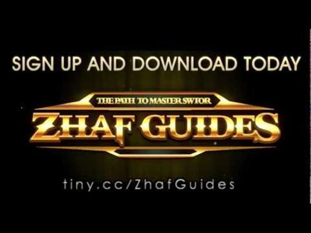 Zhaf. Learn How to Dominate SWTOR, Speed Level and Earn Credits Using Zhaf