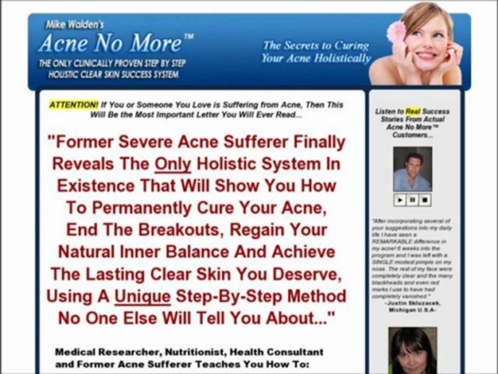 acne-no-more Why Acne No More was my Solution for Clear Skin