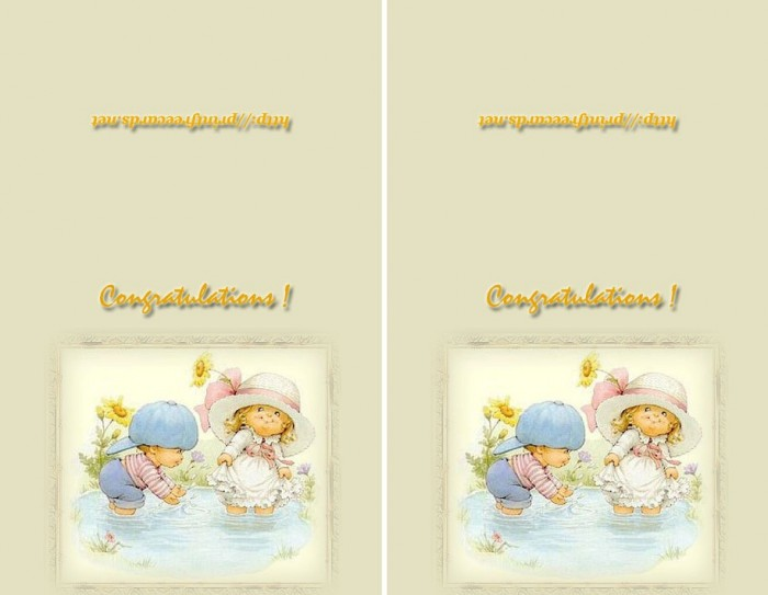 babygreetings2 50 Most Stylish printable greeting cards
