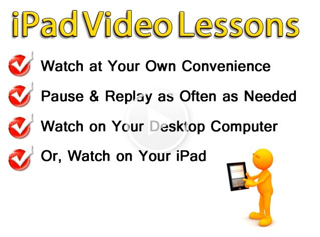"banbot Discover your iPad with ""ipad Video Lessons"""