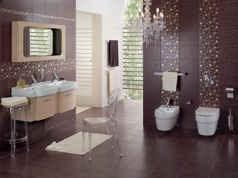 bathroom-tiles Fabulous And Stunning Colorful Bathrooms to Renew Yours