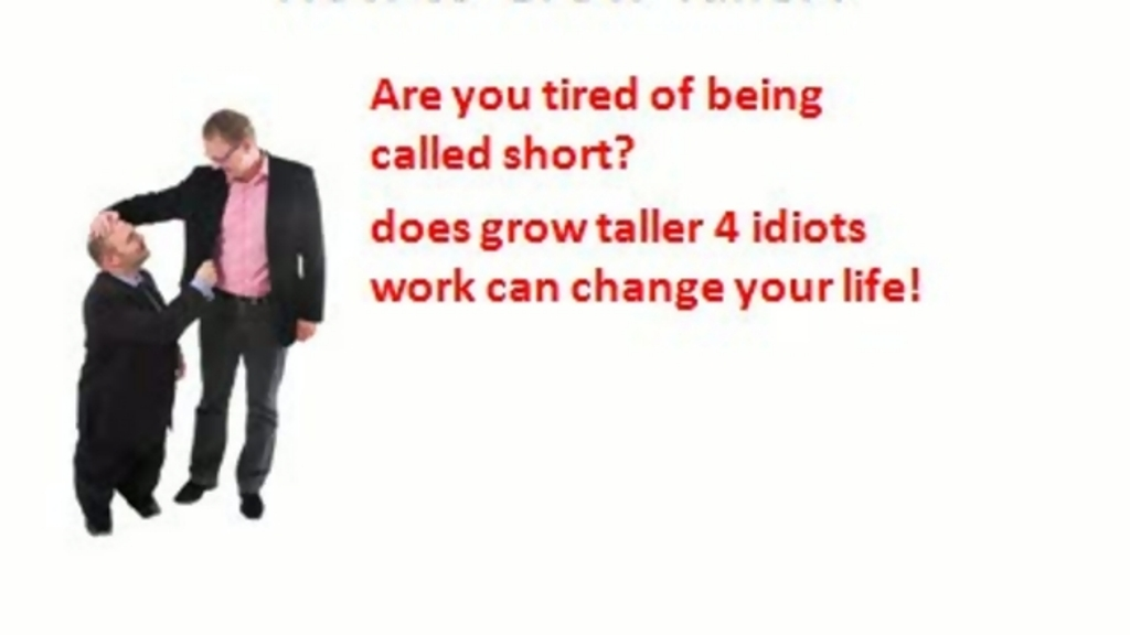 big-difference Are You Short? Secret Height Gain Methods to Grow Taller