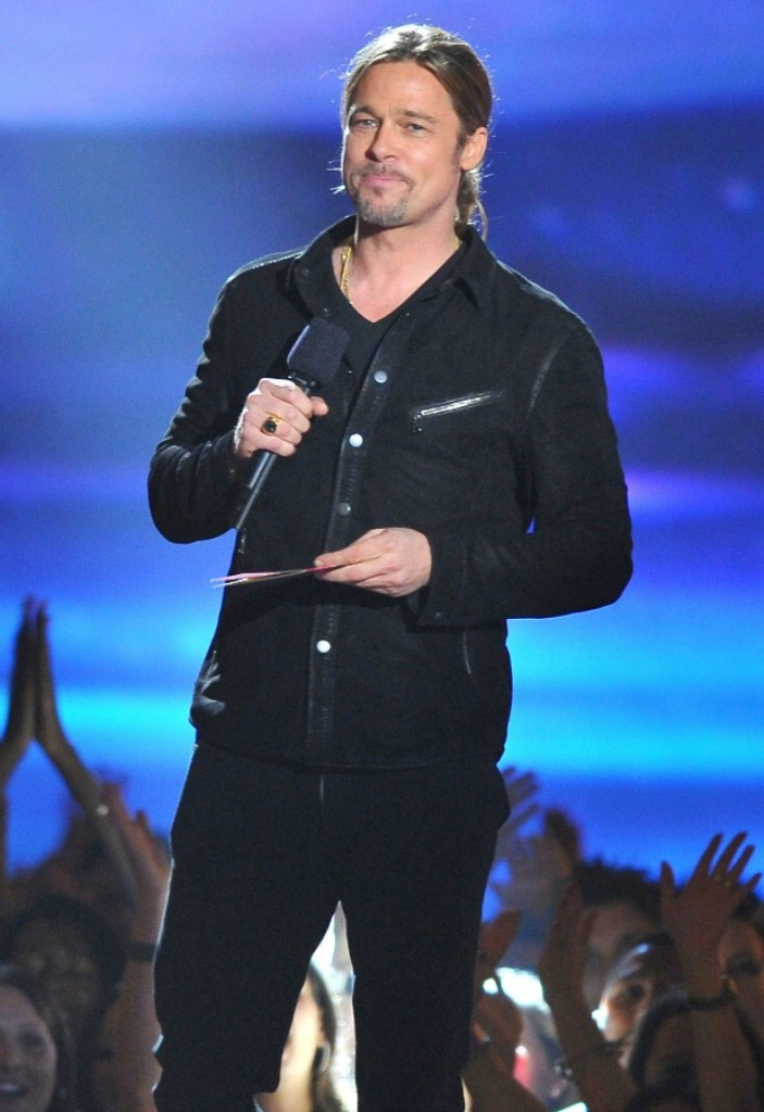 brad-pitt-mtv-movie-awards The 10 Most Famous Male Actors with Awards