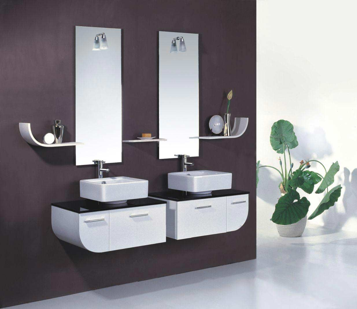 calvina-contemporary-bathroom-vanity-z1 Fabulous And Stunning Colorful Bathrooms to Renew Yours
