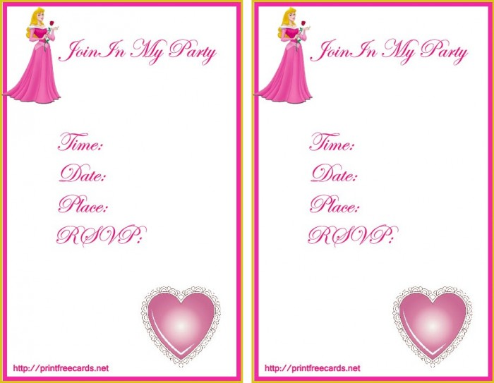disneyfreeprintableinvitations1 50 Most Stylish printable greeting cards