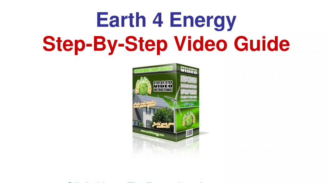 earth-4 The Simplest Methods to Slash Your Power Bill By Earth4Energy