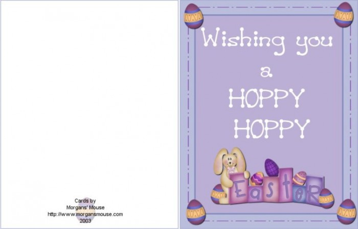 eastercard1 50 Most Stylish printable greeting cards
