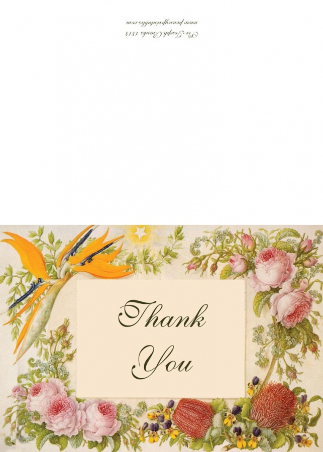 flower-thank-you-card 50 Most Stylish printable greeting cards