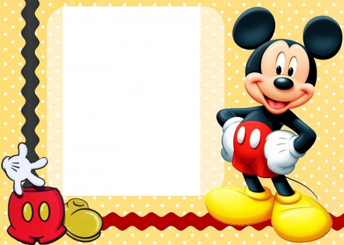 free-printable-mickey-mouse-birthday-cards-9 50 Most Stylish printable greeting cards