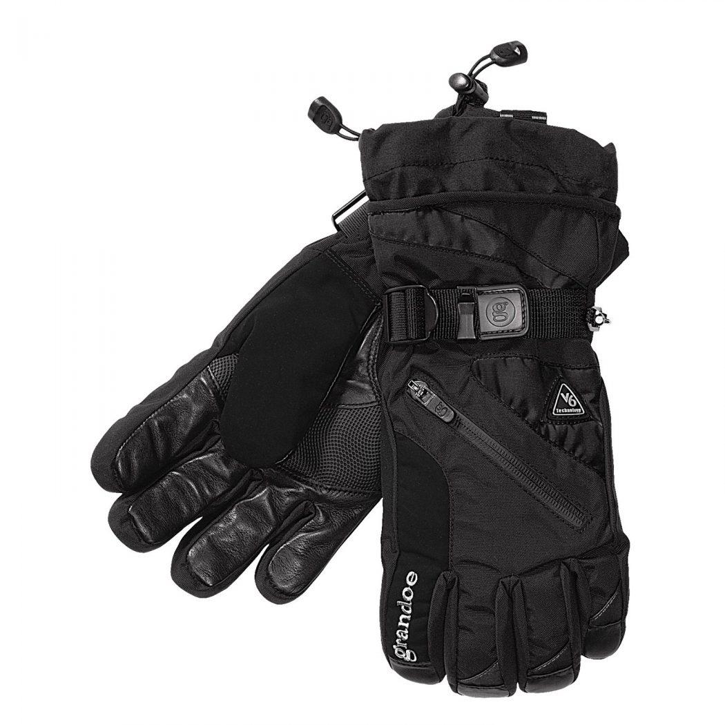 grandoe-tundra-nylon-gloves-insulated-for-men-in-black-black Most Stylish Gloves for Men