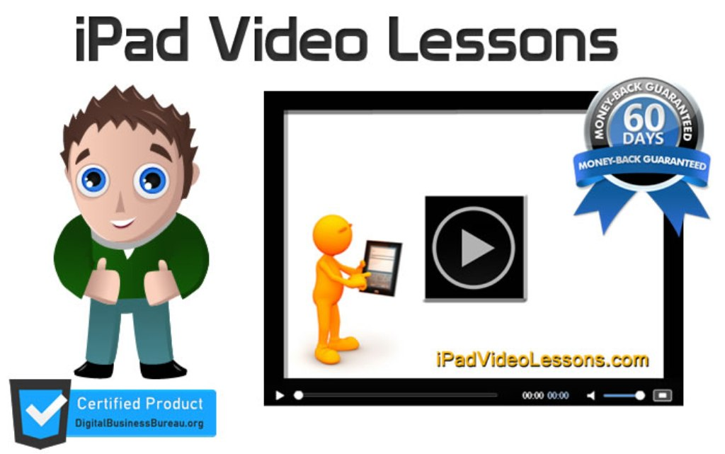 "iPad-VIdeo-Lessons-Review Discover your iPad with ""ipad Video Lessons"""