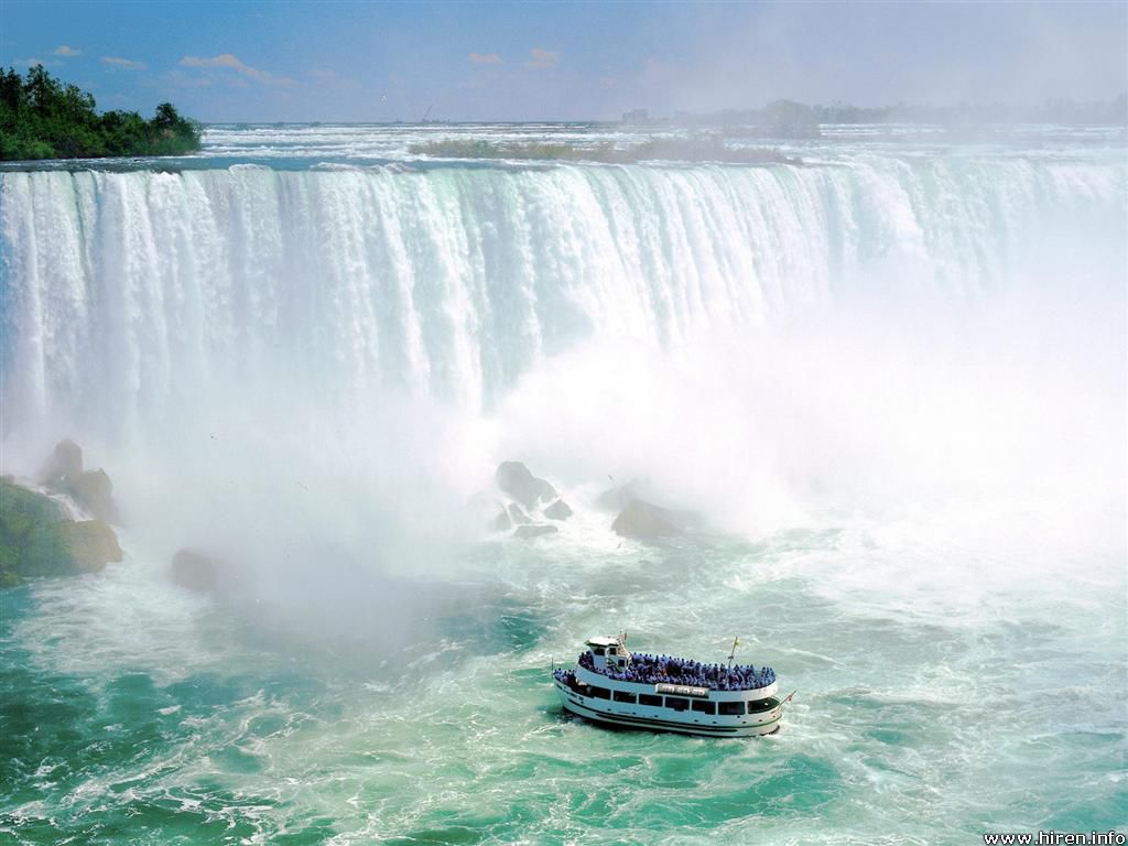 maid of the mist vii niagara falls ontario canada Top 10 Places to Visit in 2014