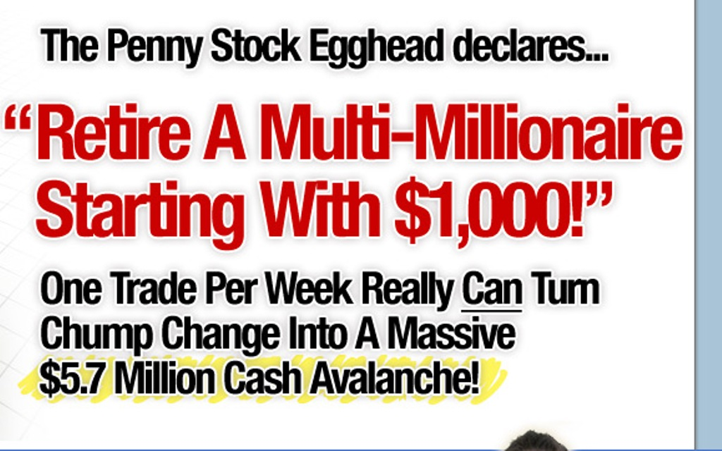 "main-right How to Make Money Using "" The Penny Stock Egghead """