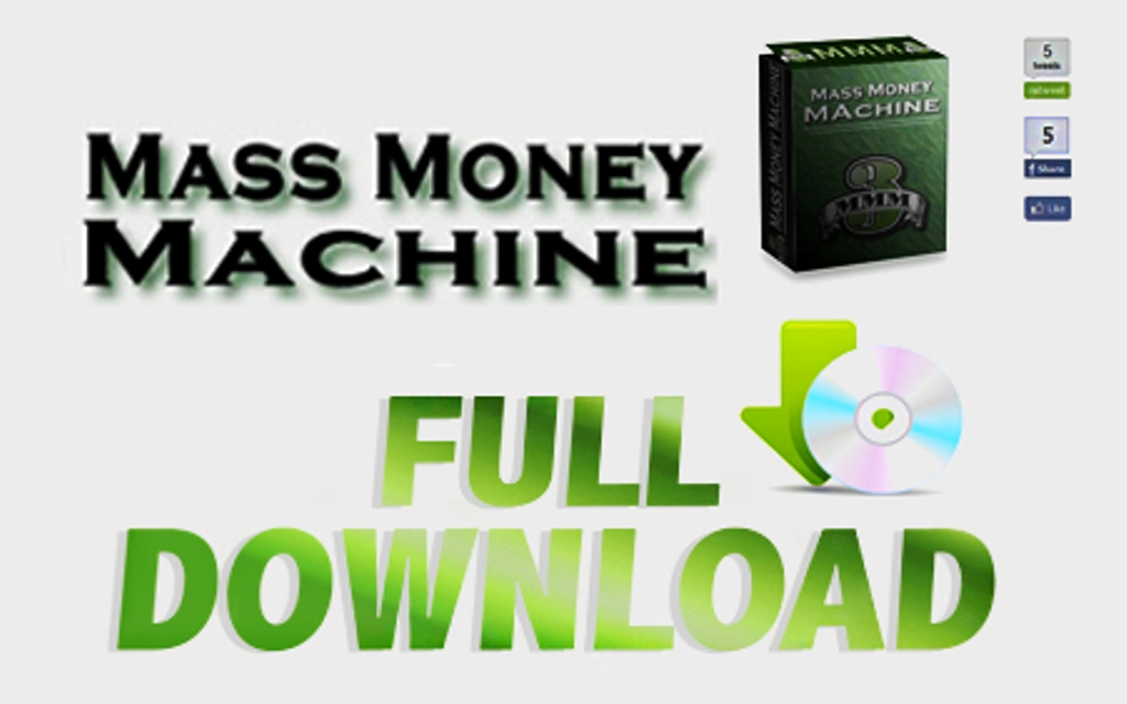 mi6r7 Do You Know Anything About Mass Money Machine?