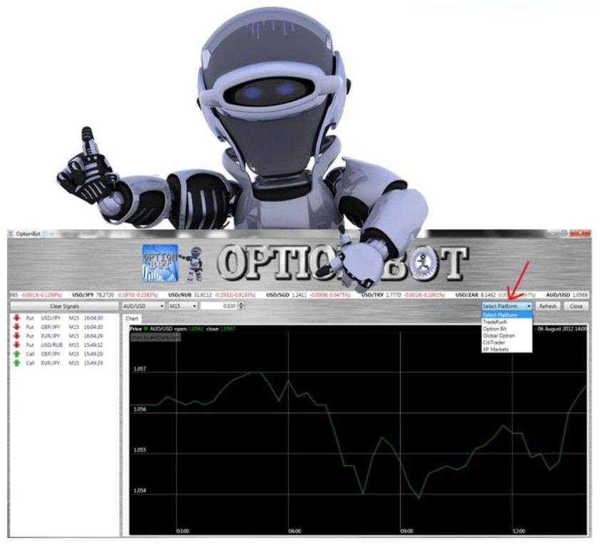 option-bot How To Trade Binary Options Using OptionBot