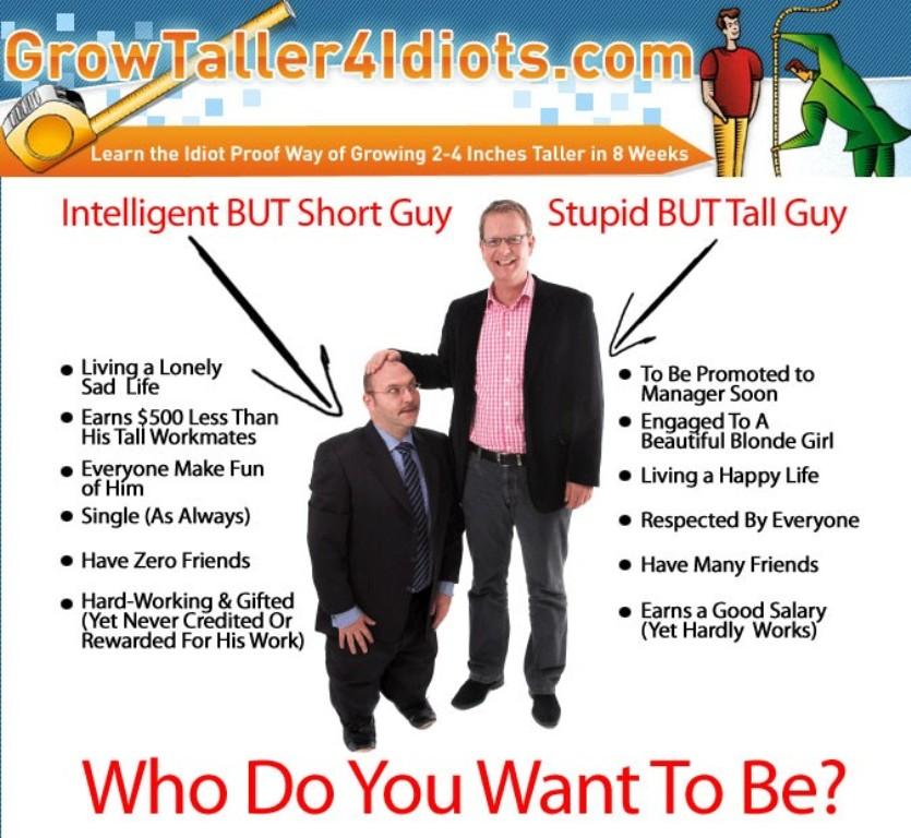 origin Are You Short? Secret Height Gain Methods to Grow Taller