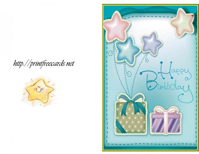 printableBirthdaycards17 50 Most Stylish printable greeting cards