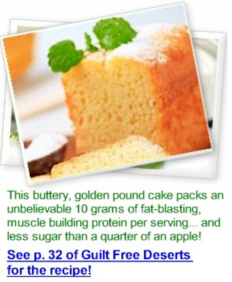 """recipe Enjoy Delicious Fat Burning Brownies That Make You Leaner By """"Guilt Free Desserts"""""""