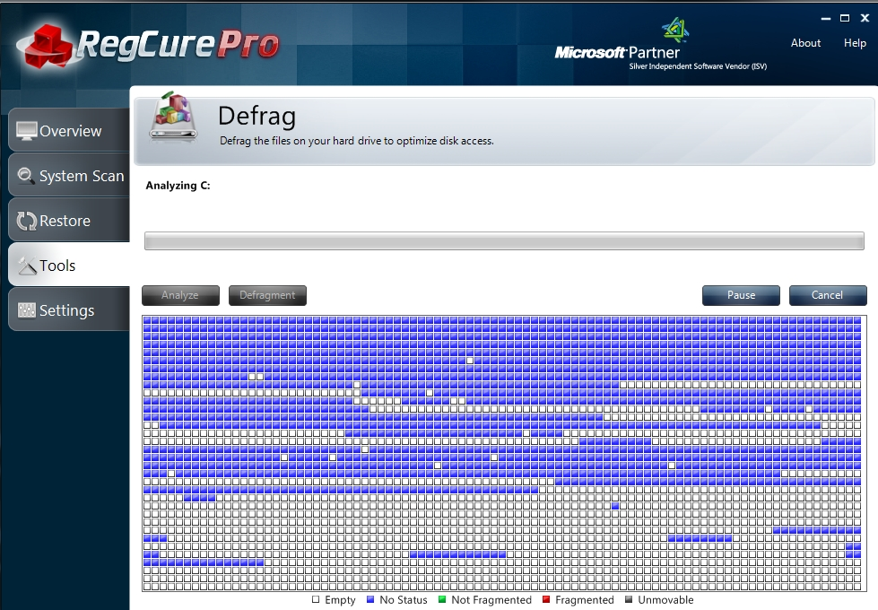 regcure-pro-defrag-5 How to Perfectly Analyze Your Registry for Errors Using Regcure?