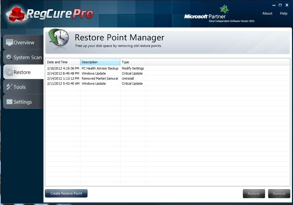 regcure-pro-restore-2 How to Perfectly Analyze Your Registry for Errors Using Regcure?