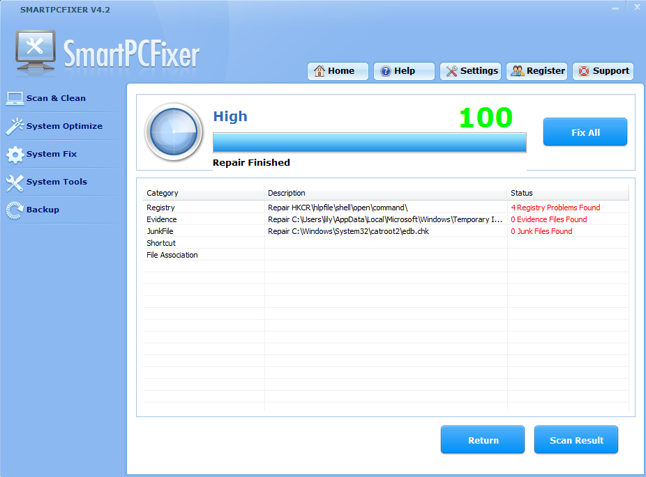 """smart How to Fix Windows Errors and Optimize PC using """"Smart PC Fixer""""?"""