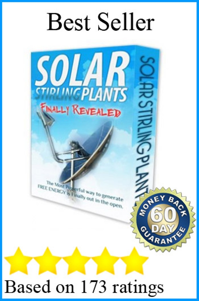 solar-stirling-plant1 Creative Trick to Reduce Your Electric Bills By 75% Using Solar Stirling Plant