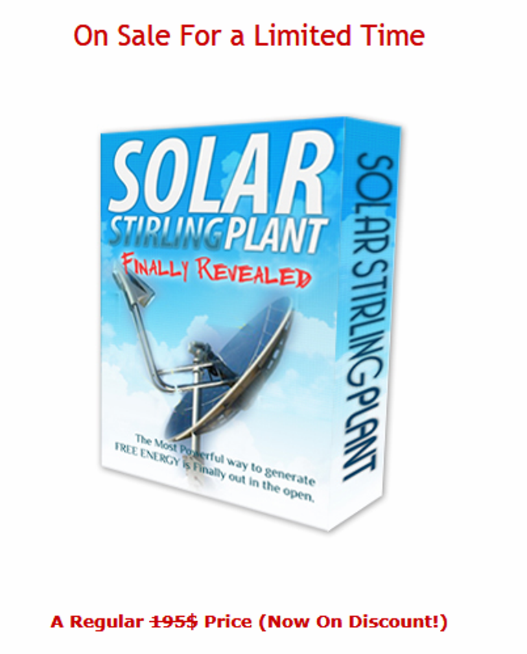solar Creative Trick to Reduce Your Electric Bills By 75% Using Solar Stirling Plant