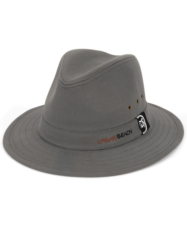 urban-beach-mens-cotton-fedora-hat-grey-big What Are The Latest Fashion Trends of Men's Hats?