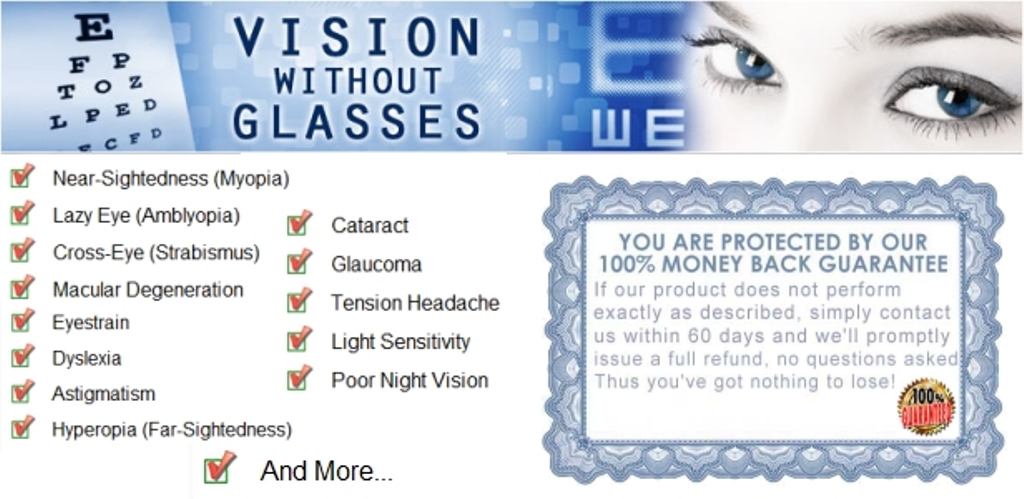vision Do You Believe That You Can Restore Your Vision Naturally?