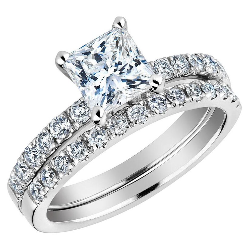 Wedding rings for women princess cut 5140476fd601c for Wedding engagement rings for women