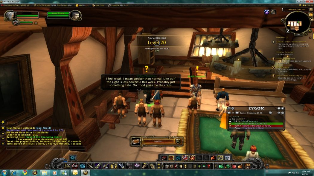 zygor-guides-reaches-level-20 Make Tons of Gold & Achieve Success in World of Warcraft Using Zygor Guides
