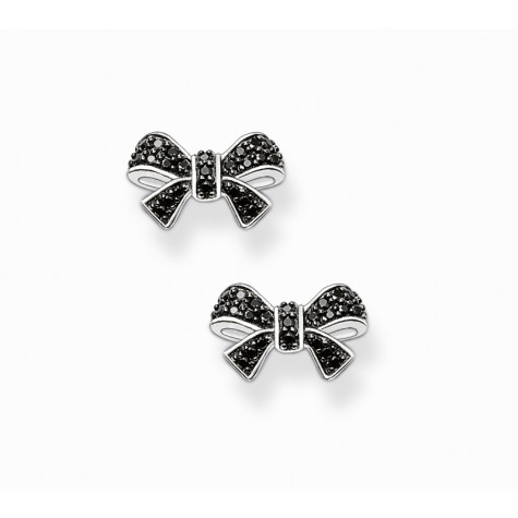 0002298_thomas-sabo-black-bow-stud-earrings-475x475 How To Use Earrings With Straight Hair, Tied or with Veil