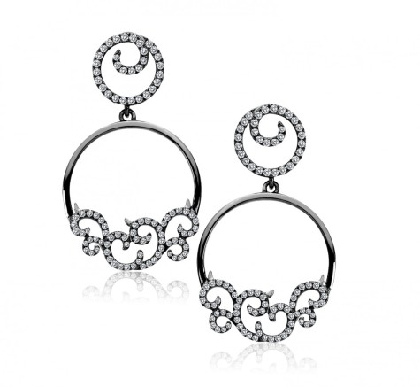 1-michael_john_image_earrings__68251.1345317452.1280.1280-475x437 How To Use Earrings With Straight Hair, Tied or with Veil