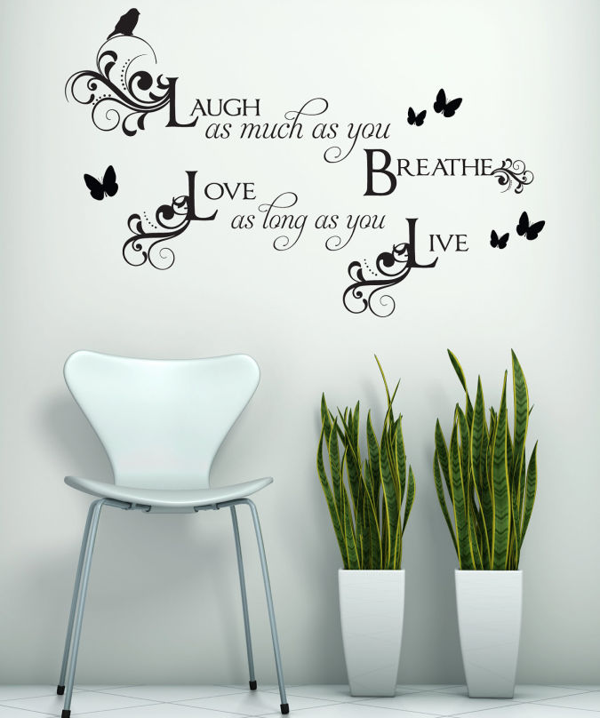 1 Amazing and Catchy Wall Stickers for Home Decoration