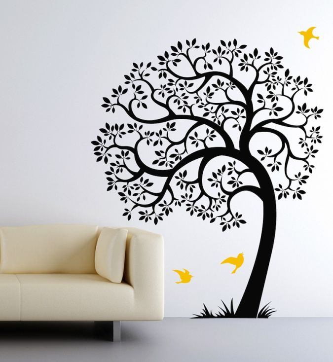 10 Amazing and Catchy Wall Stickers for Home Decoration