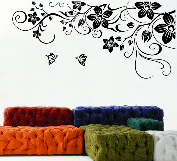 12 Amazing and Catchy Wall Stickers for Home Decoration