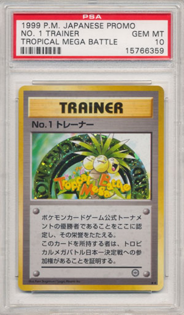 1999psa10tropical-mega-battle Top 5 Most Expensive Pokemon Cards Ever