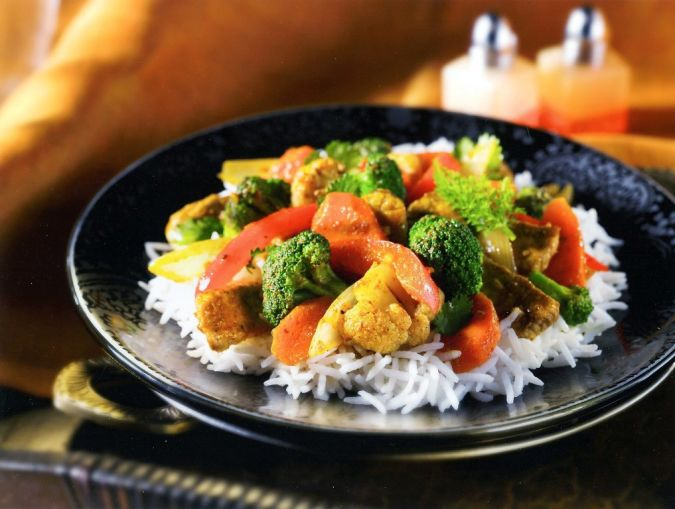 FOOD Curry stir-fry