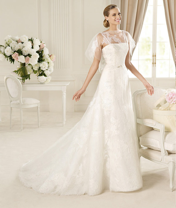 2013-MANUEL-MOTA-COLLECTION-GAMO-GOWN 70 Breathtaking Wedding Dresses to Look like a real princess