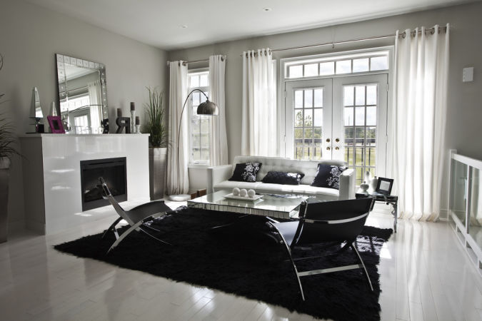 2013-Stylish-Black-White-Curtain 20+ Awesome Images for the Latest Models of Curtains