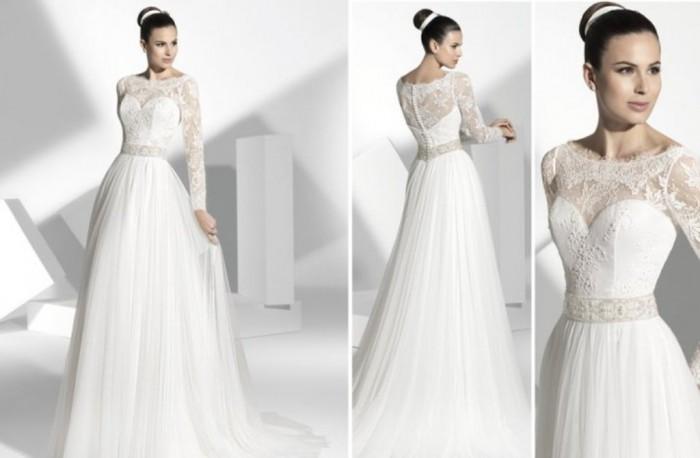 2013-wedding-dress-franc-sarabia-bridal-gowns-spanish-designers-19__full-carousel 70 Breathtaking Wedding Dresses to Look like a real princess