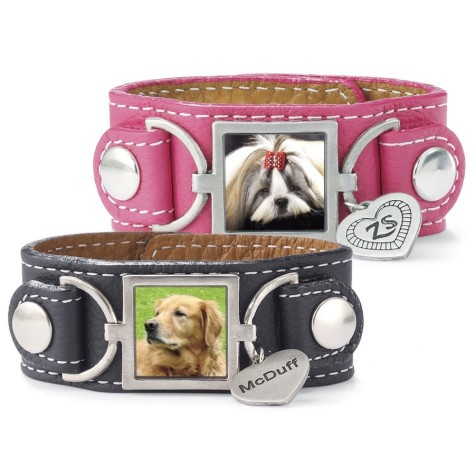 27_Personalized_Leather_Bracelet-475x475 Dress Your Dog In Jewels